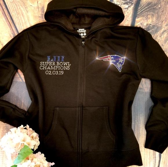 best website 17054 02493 New Women's New England Patriots Zip Up Jacket